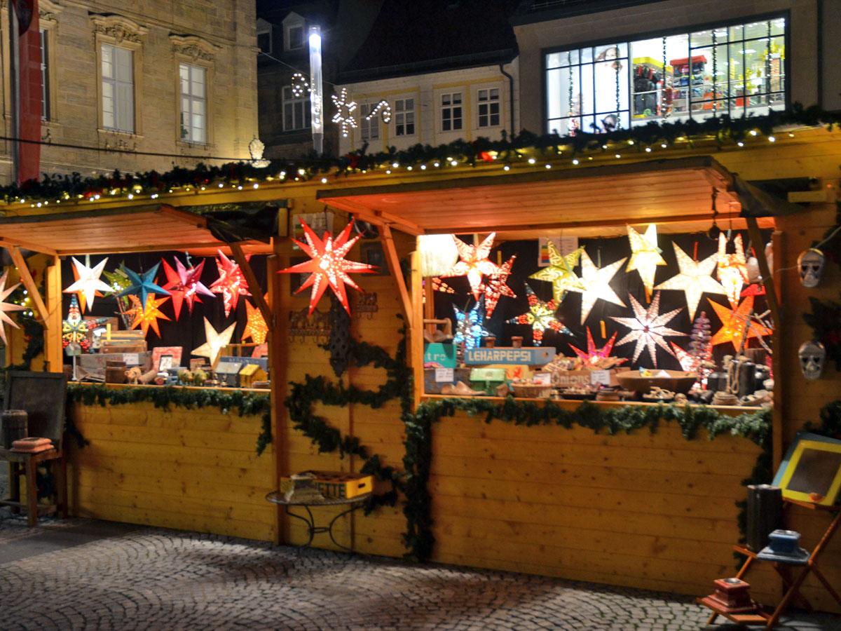Weihnachtsmarkt Bamberg.Feierlich Wurde Am Donnerstagabend Der Weihnachtsmarkt Im Beisein