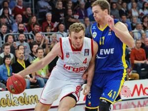 Beko BBL:: Brose Baskets vs. EWE Baskets Oldenburg