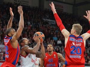 Euroleague: Brose Baskets vs. ZSKA Moskau