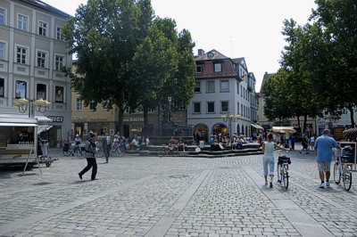 gr ner markt bamberg guide stadtportal weltkulturerbe. Black Bedroom Furniture Sets. Home Design Ideas