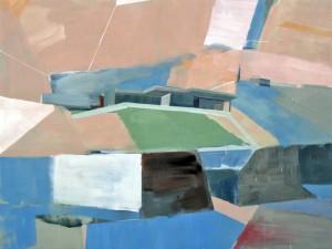 "Anna Maria Kursawe: ""shifting space IV"" - Malerei und Wandinstallation"