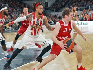 Euroleague Top16: Brose Baskets vs. Olympiakos Piräus