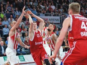 Euroleague Top16: Brose Baskets vs. Olympiakos Piräus