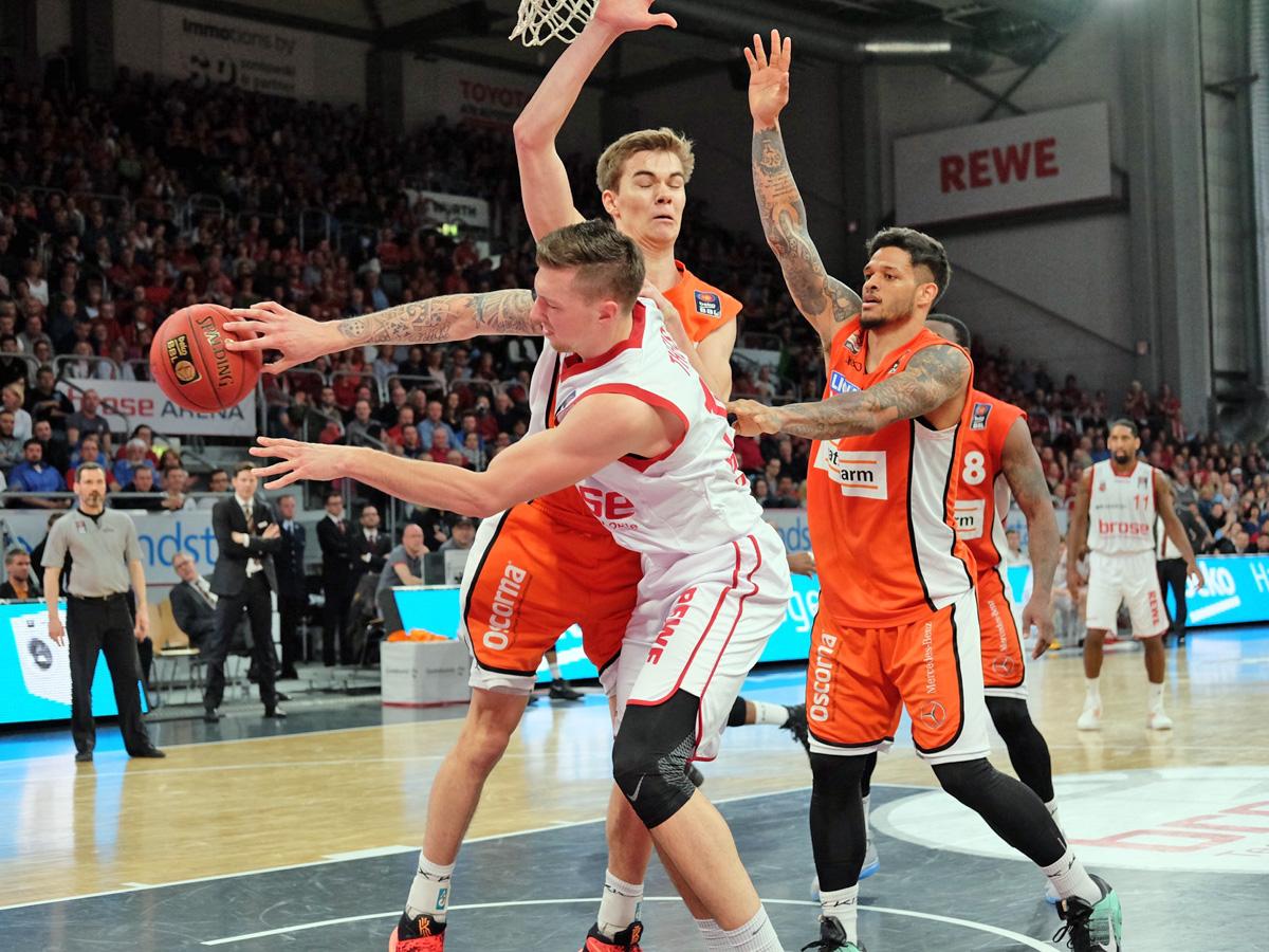 Brose Baskets Besiegen Ratiopharm Ulm Bamberg Guide