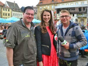 Weinfest auf dem Bamberger Maxplatz