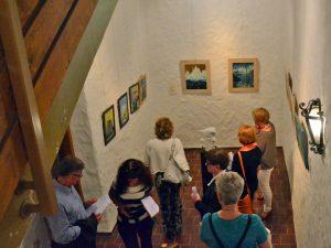 STARKE-STÜCKE V., Kunstausstellung in der Giechburg