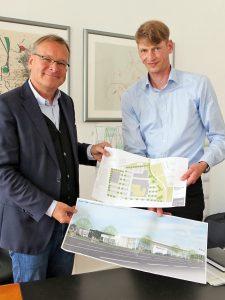 BMW-Sperber baut ein modernes Autohaus am Berliner Ring