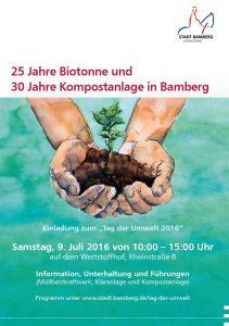 Tag der Umwelt: 25 Jahre Biotonne - 30 Jahre Kompostanlage