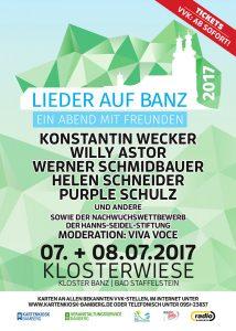 """""""Lieder auf Banz"""" 2017 - Ein Abend mit Freunden"""
