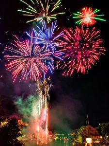 Sandkerwa Feuerwerk 2016