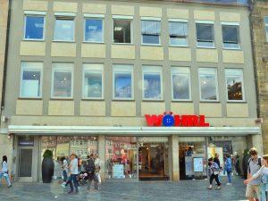 Stadt Bamberg sagt der Wöhrl-Filiale ihre Unterstützung zu.