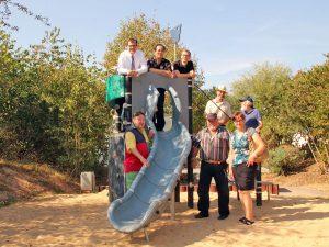 Fraktionen und Bürgervereine bei der jährlichen Spielplatzbegehung