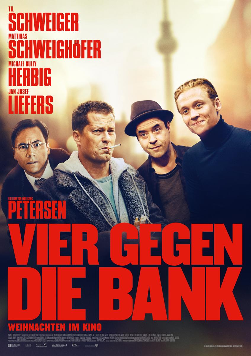 Vier Gegen Die Bank Besetzung