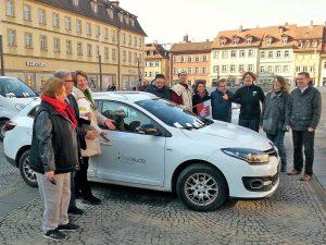25 Jahre Carsharing in Bamberg - Ökobil heißt jetzt meiaudo CarSharing