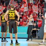 easyCredit BBL - 19. Spieltag: Brose Bamberg vs. MHP RIESEN Ludwigsburg