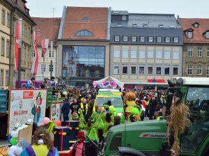 Fasching in Bamberg. Schneller, höher, heiter