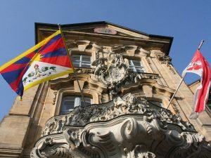 Bamberg zeigt Flagge für Tibet