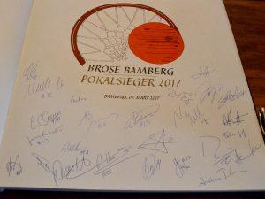 Brose Basket Pokalsieger 2017 im alten Rathaus
