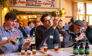 Innovativer Bier-Workshop und Romeis Brauertag: Karl-Ludwig Rieck, Weyermann - Dominik Maldoner, Kundmüller - Tobias Seidl, Kaiserdom