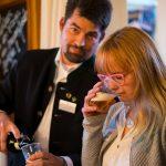 Innovativer Bier-Workshop und Romeis Brauertag: Marcus Jentzsch, Romeis & Gisela Meinel-Hansen, Meinel Bräu Hof