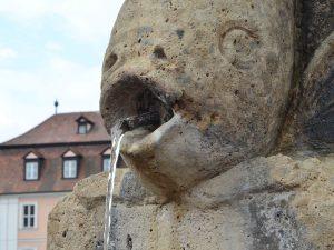 Trinkwasserbrunnen Fischbrünnlein am Kranen
