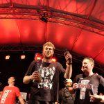 Brose Bamberg Meisterparty 2017 auf dem Maxplatz