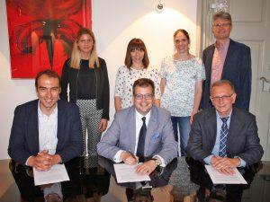 Pilotprojekt: Innovative Kooperation von Uni Bamberg und Wirtschaftsschule