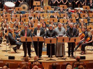 Konzert für den Frieden Konzerthalle