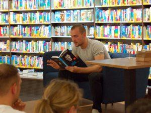 Lesung Eric Stehfest im Hübscher Bamberg