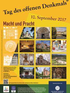 Denkmalpflege Plakat