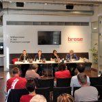 Preseason-Game 2017: Brose Bamberg vs. Basket Swans Gmunden - Pressekonferenz