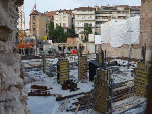 Baustellen Bamberg Quartier an den Stadtmauern |