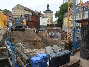 Baustellen Bamberg Unteren Mühlen