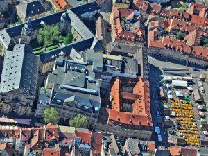 Luftbild Bamberger Innenstadt