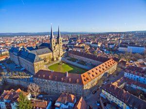 Luftbild Kloster Michaelsberg
