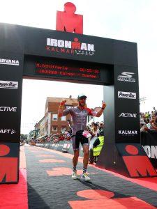 Bamberger Chris Dels beim Ironman