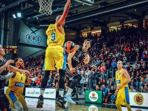 Turkish Airlines Euroleague 17/18 - 1. Spieltag: Brose Bamberg vs. Maccabi FOX Tel Aviv