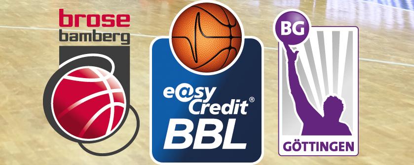 easyCredit BBL 17/18 - 14. Spieltag: Brose Bamberg vs. BG Göttingen