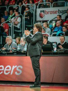 easyCredit BBL 17/18 - 9. Spieltag: Brose Bamberg vs. Fraport Skyliners