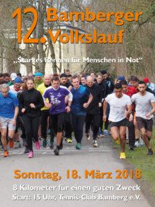 12. Bamberger Volkslauf - Starkes Rennen für Menschen in Not