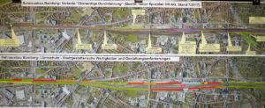 Bürgerinformationsveranstaltung zum Bahnausbau Bamberg - Der Spurenplan