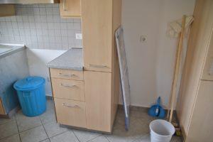 Für die Reinigung sind die Bewohner zuständig.