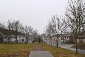 Gleich neben der AEO befindet sich die neue Ausbildungsstätte der Bundespolizei.