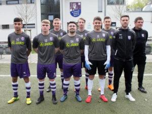 Kadir Öz, Lucas Horn, Sandro Dümig, Joscha Wich, Simon Kollmer, Robin Renner, Jonas Schirm, Michael Hutzler (Cheftrainer Herren), Andy Baumer (Cheftrainer U19).