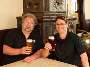 Das erfolgreiche Bestseller-Autorenduo Markus Raupach und Bastian Böttner.