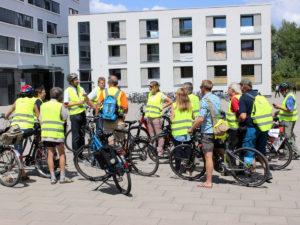Fahrradthemen im Fokus: Unterwegs im Auftrag der Radverkehrsförderung.
