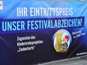 Eroeffnung Innenstadt Bluesfestival