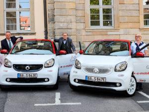 E-Autos Stadt Bamberg