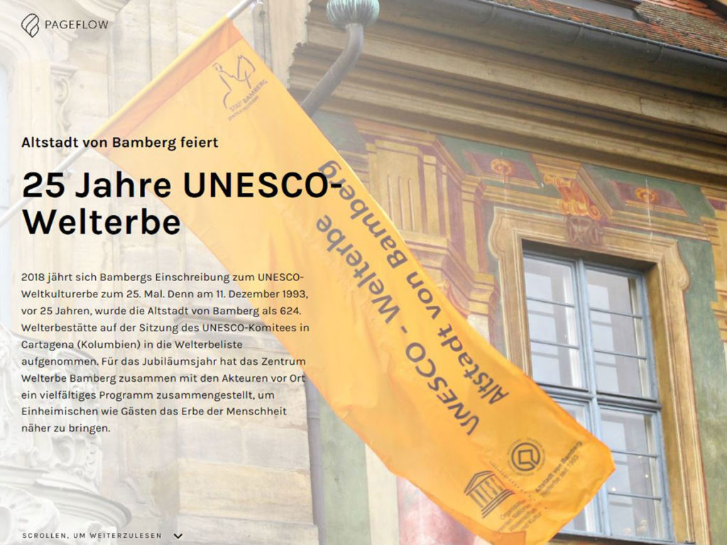 25 Jahre Welterbe Bamberg Multimedial