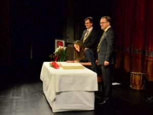 Ehrung Tanja Kinkel E.T.A Hoffmann Theater |